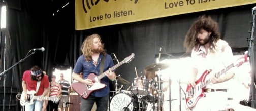 cover of the Rolling Stones artists from Saskatoon, The SheepDogs play Toronto